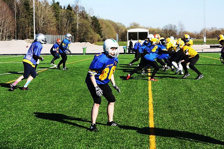 Amerikansk fotboll i Sverige